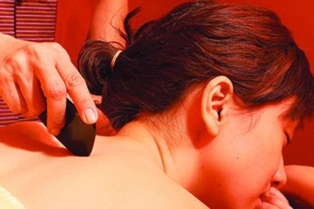 Gua Sha Scraping Technique at Peaceful Spirit Acupuncture, Ithaca NY