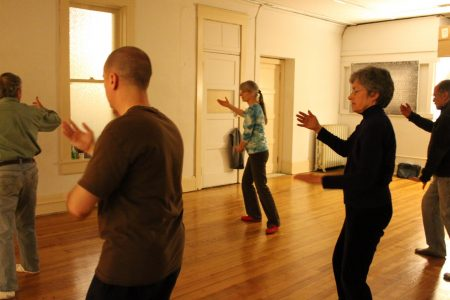 Tai Chi class in Ithaca, New York