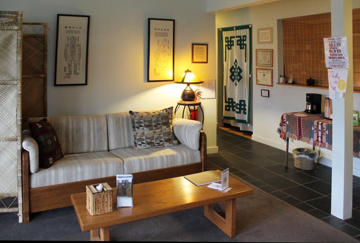 Peaceful Spirit Acupuncture Waiting room