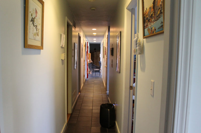 Office hallway at Peaceful Spirit Acupuncture, Ithaca NY